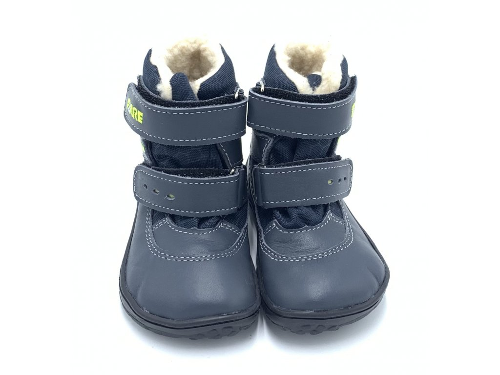 Fare Bare Finky Modré B - Zimné čižmy