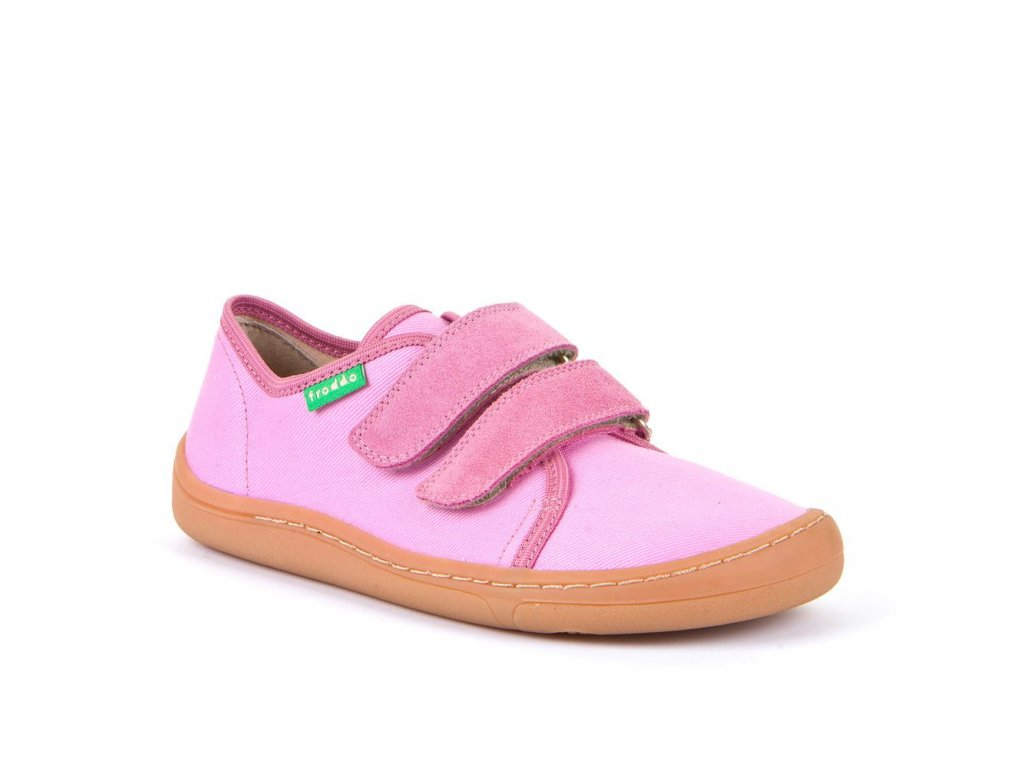 Froddo Barefoot Pink G1700283 - Plátenky
