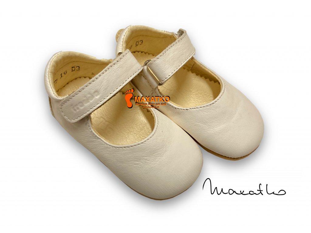 Froddo Prewalkers White G1140001-4 - Balerínky
