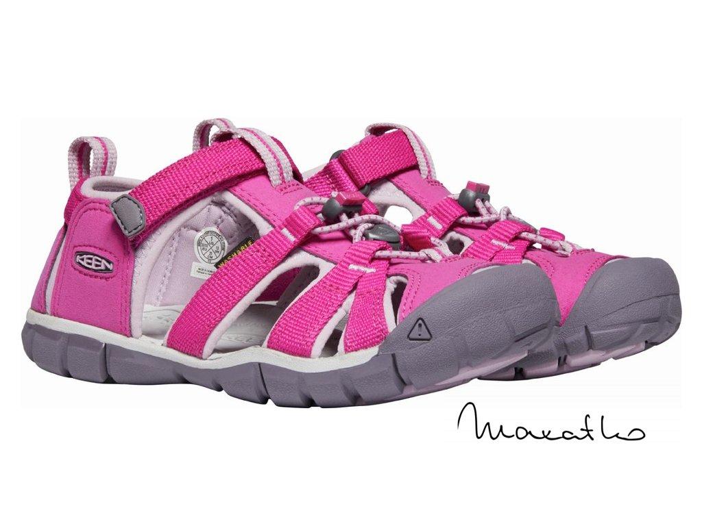 Keen Seacamp CNX Berry/Pink - Sandále