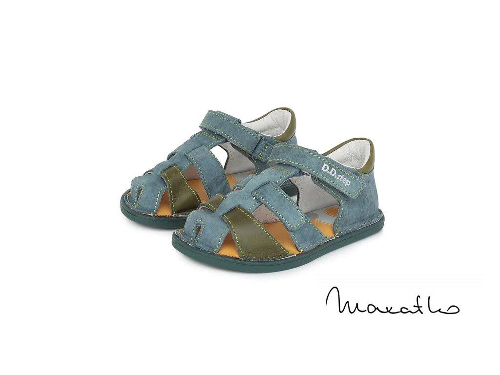 D.D.Step Royal Blue 063-237 - Sandálky