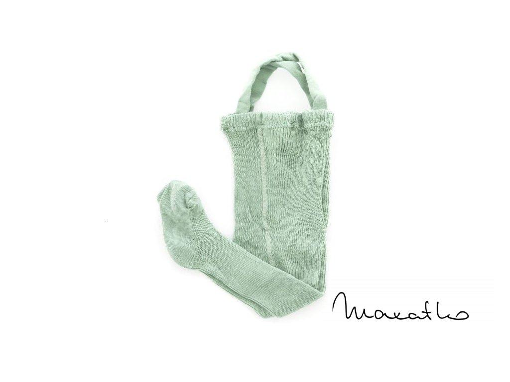 detske pancuchove nohavice pancusky ducika 600 svetlo zelena large