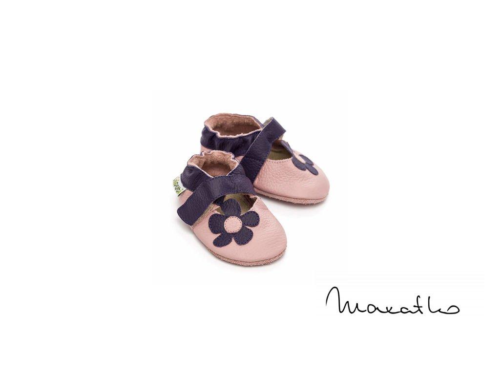 Liliputi Lilac - Capačky / Sandále
