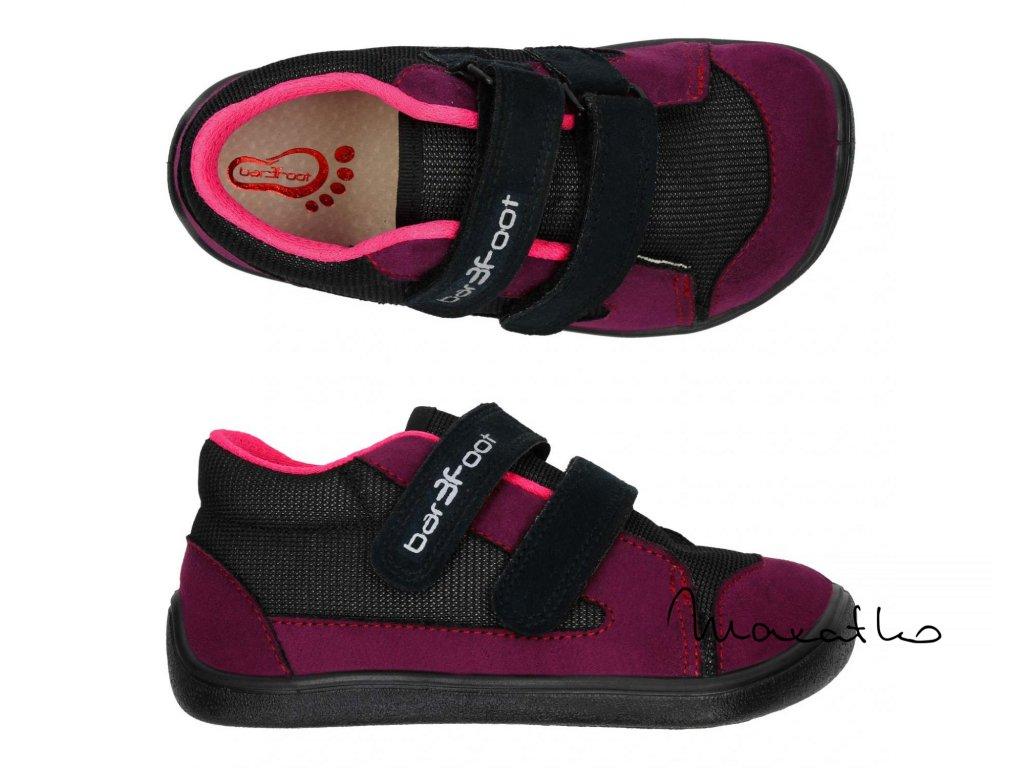 3F Barefoot Modré - Sandálky