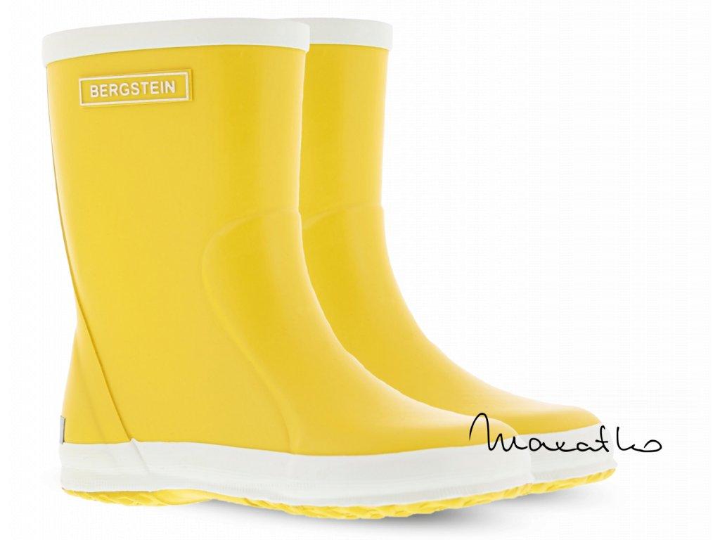 Bergstein Rainboot Yellow - Gumáky