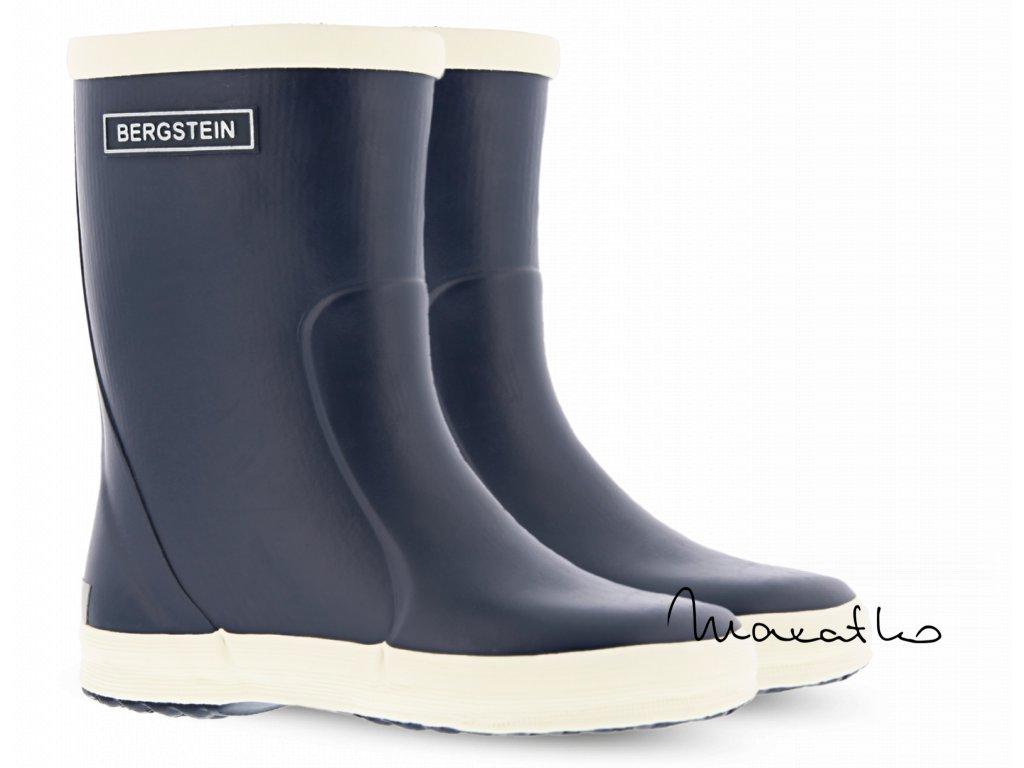 Bergstein Rainboot Dark Blue - Gumáky