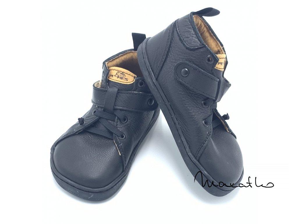 Pegres Barefoot BF52 Čierne - Celoročné topánky
