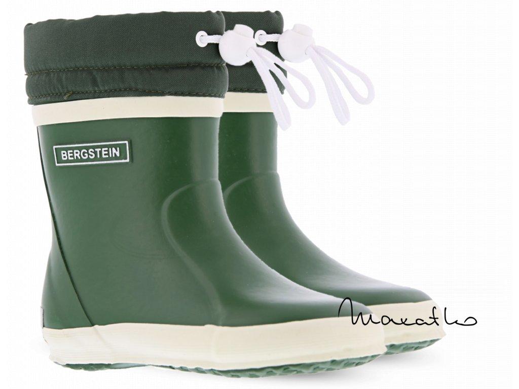 Bergstein Rainboot Winter Forest - Zateplené gumáky