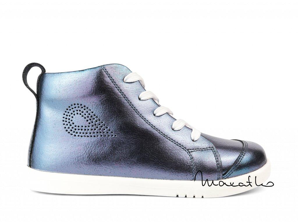 Bobux I Walk/Kid+ Alley-Oop Navy Metallic - Celoročné topánky