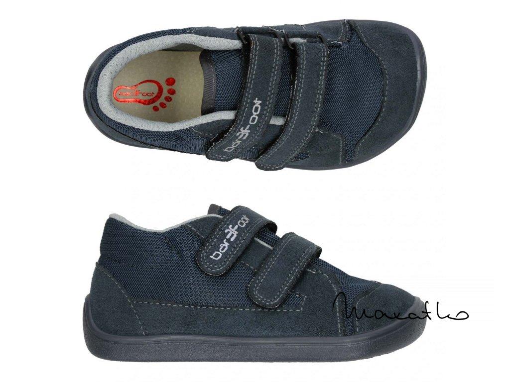 3F Barefoot Hnedé 3BE39/4 -  Celoročné topánky