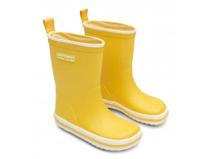 Bundgaard Classic Rubber Boot - Sunflower - Gumáky