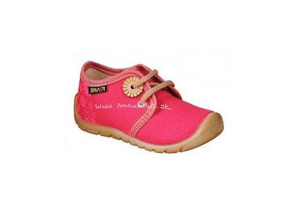 Fare Bare Prvé krôčky - Ružové - 5011451 - Plátenky (Veľkosť 21)