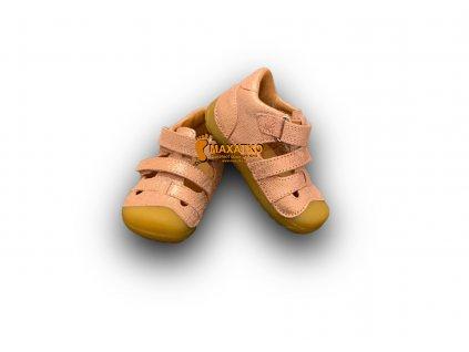 Bundgaard Petit Sandal - Pink Grille - Sandálky