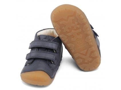 Bundgaard Petit Velcro Night Sky - Celoročná obuv