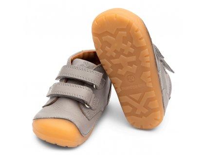 Bundgaard Petit Velcro Acier Grey - Celoročná obuv