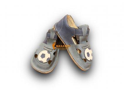 OrtoPlus/OkBarefoot - Ithaka - D205/H - Modré - Sandálky