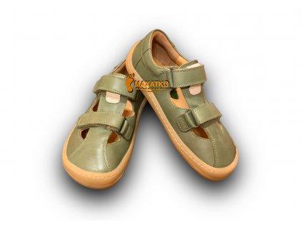Froddo Barefoot Dark Green - G3150166-1 - Sandálky