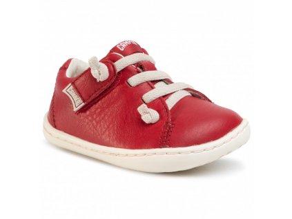 Camper Peu Cami - First Walker Sella Dynamo/Path Clara Red - Celoročné topánky