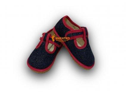Protetika Barefoot - Raven navy - Papuče