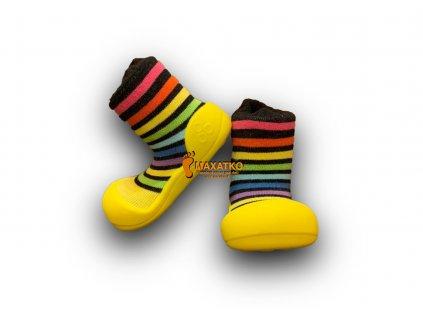 Attipas - Rainbow Yellow - Papuče