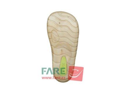 Fare Bare Prvé krôčky - Horčicové - Nízke