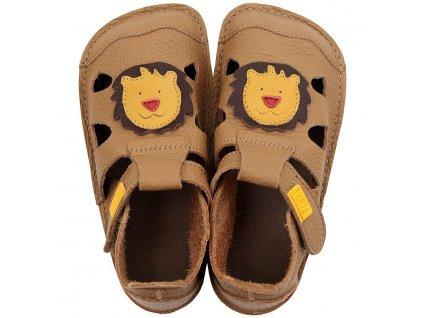 barefoot kids sandals lime 9609 4