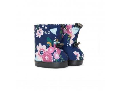 Stonz Booties Toddler - Wildflower Navy