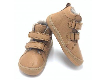 Froddo Barefoot Cognac G3110195-3K - Zimné topánky