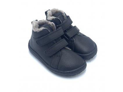 Froddo Barefoot  Black G3110194-3- Zimné topánky