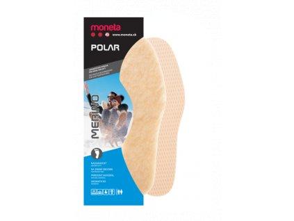 MONETA Polar Merino - Zimné vložky do topánok, veľ. 35 - 43