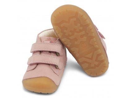 Bundgaard Petit Velcro Old Rose - Celoročné topánky