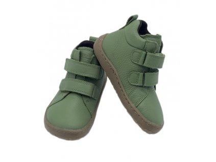 Froddo Barefoot Orange - Vysoké - Celoročné topánky