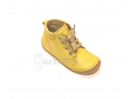 Froddo Flexible - Vysoké G2130157-1 - Yellow - Celoročné topánky - Šnurovacie