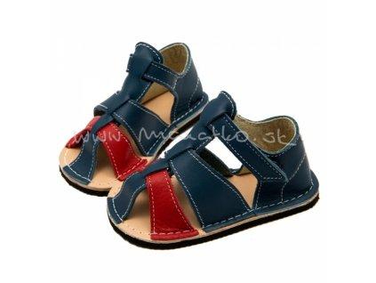 ZeaZoo Goby Blue Red W - Sandálky