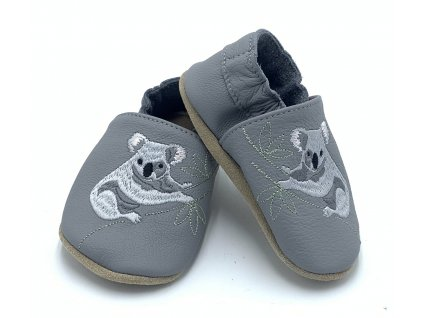 Babice Barefoot Sivé - Koala - Capačky