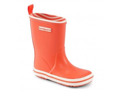 Bundgaard Classic Rubber Boot - Orange - Gumáky