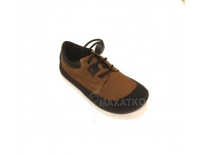 Sole Runner Pan SPS Velour Brown/Black - Celoročné topánky