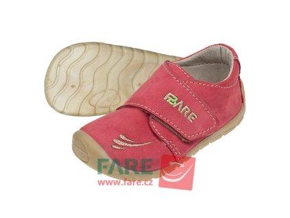 Fare Bare Prvé krôčky - Lososové - 5012241 - Celoročné topánky
