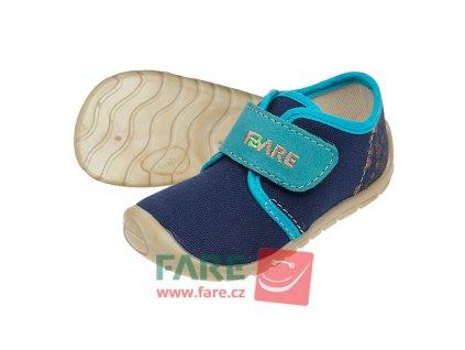 Fare Bare Prvé krôčky - Modré - Plátenky