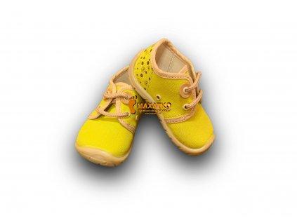 Fare Bare Prvé krôčky - 5011431 - Žlté - Plátenky