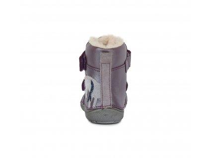 .D.Step Royal Blue 063-228A -  Zimné topánky
