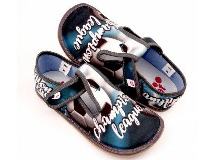 EF Barefoot 395 Popiel Champion - Papuče