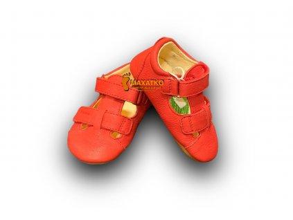 Froddo Prewalkers Red - G1140003-6 - Sandálky