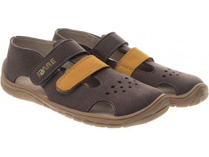 Fare Bare Sivé - 5262261 - Sandálky