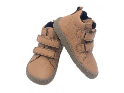 Froddo Barefoot Cognac - Vysoké - Celoročná obuv