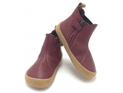 Froddo Barefoot Chelys Bordeaux - Celoročné topánky