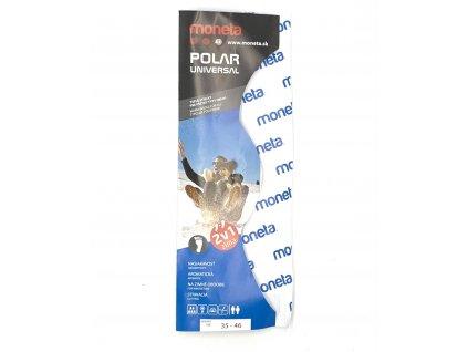 Moneta Polar Universal 2v1 - Zimné strihacie vložky - veľ.36-45