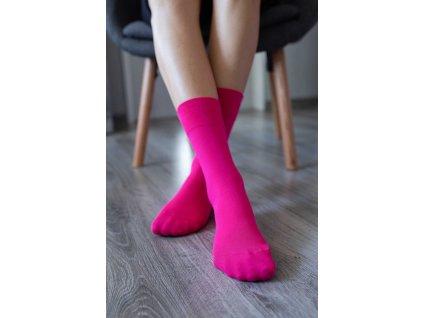 barefoot ponozky ruzove 4654 size large v 1