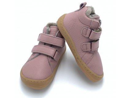 Froddo Barefoot Pink G3110195-5K - Zimné topánky