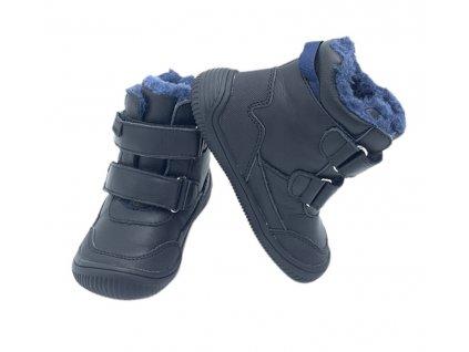 Protetika Barefoot Tyrel Blue - Zimné topánky